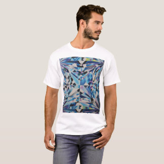 Men's Glass Diamond Basic T-Shirt