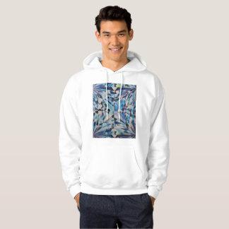 Men's Glass Diamond Hooded Sweatshirt