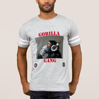 "mens ""Gorilla Gang""  beat Monkey foot ball tee"