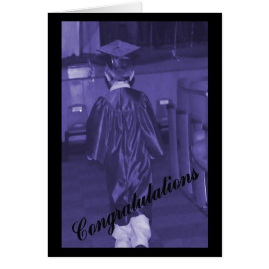 Men's Graduation Card