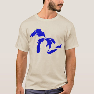 Men's Great Lakes logo graphic T-Shirt