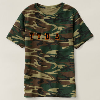 Men's Green Woodland Camo T-Shirt