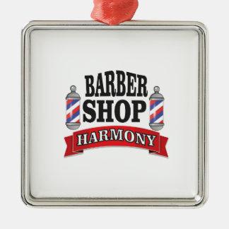 mens harmony Silver-Colored square ornament