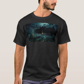 Men's Haunted House T-Shirt