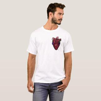 Mens Heart Design T-Shirt