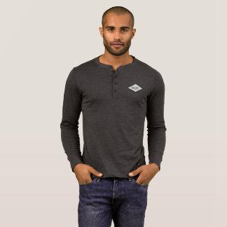 Men's Henley Long Sleeved Shirt