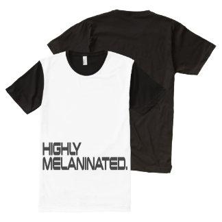 Men's Highly MELANINATED. Shirt