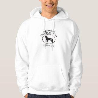Men's Hooded Sweatshirt AZ Cattle Dog Rescue