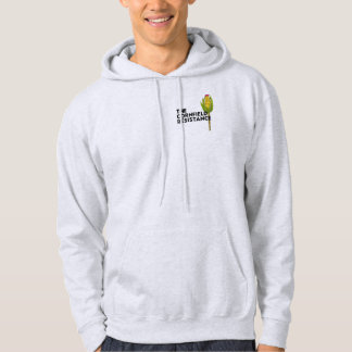 Men's Hooded Sweatshirt - The Cornfield Resistance