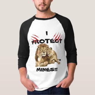 Men's I protect mines longsleeve tshirt