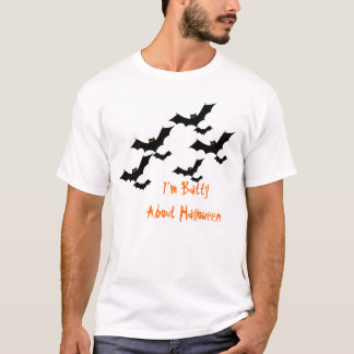 "Mens ""I'm Batty About Halloween"" Tee"