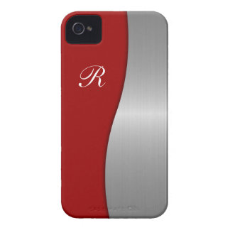 Men's iPhone 4 Monogram Case