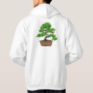 Men's Japanese Bonsai Tree Hoodie (White)