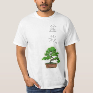 Men's Japanese Bonsai Tree T-shirt (White)