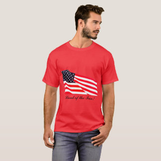 Men's Land of the Free Basic Dark T-Shirt