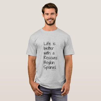 Men's Life is Better Rescue Tee