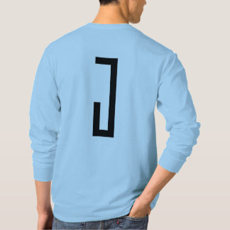 mens long sleeve j wear design tee