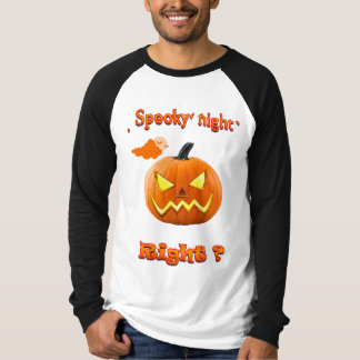 Men's Long Sleeve T-Shirt, Halloween T-Shirt