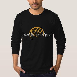 Men's long sleeve t-shirt: Marble City Opera logo T-Shirt