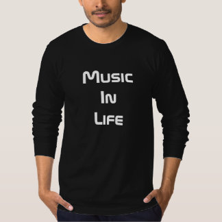 Men's Long Sleeve T-Shirt - Music In Life