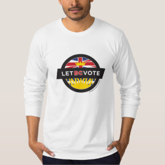 Mens' Long Sleeved Shirt - Let BC Vote
