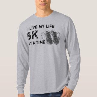 Men's LS  - I live my life 5K at a time T-Shirt