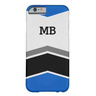 Men's Manly Monogram Style Barely There iPhone 6 Case