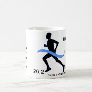 Men's Marathon Blue Ribbon Coffee Mug