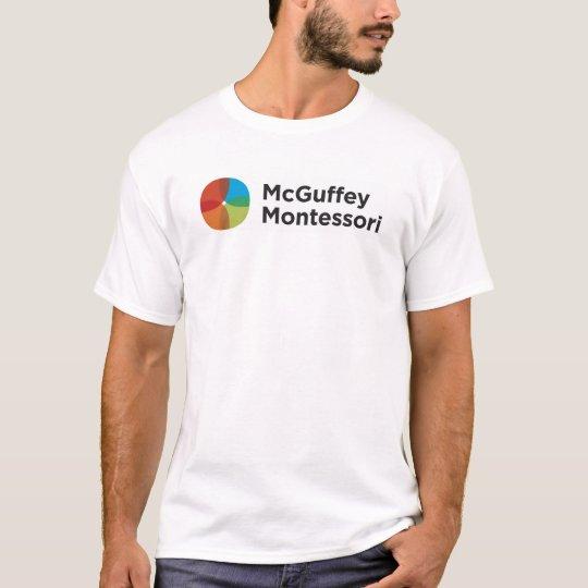 Men's McGuffey Spirit Wear White T-shirt
