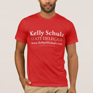 Men's MD Delegate Kelly Schulz Shirt (Red)
