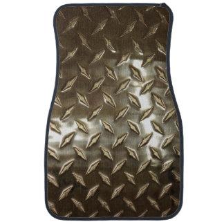Men's Metallic aLook Car Mat