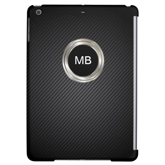 Mens Monogram Cool Design iPad Air Cover