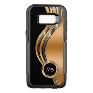 Mens Monogram Cool OtterBox Commuter Samsung Galaxy S8+ Case
