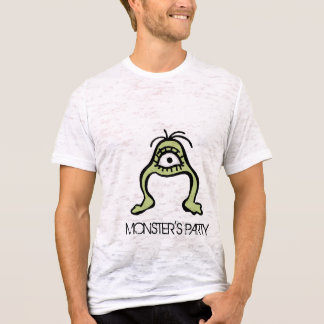 Men's Monster T-shirt- burnout/ fitted T-Shirt