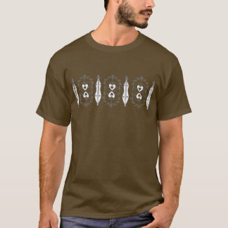 Men's Mountain Dulcimer Dark T-Shirt