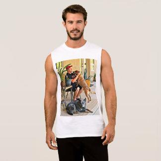 Men's Muscle Tee Shirt