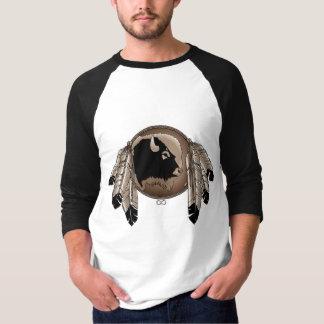 Men's Native Art Jersey Metis Wildlife Shirt Gifts