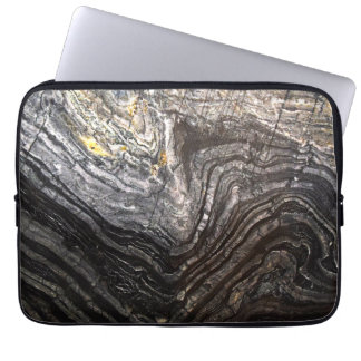 Mens Natural Stone Background Laptop Sleeve