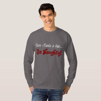 Men's Naughty Funny Christmas Holiday Sweatshirt