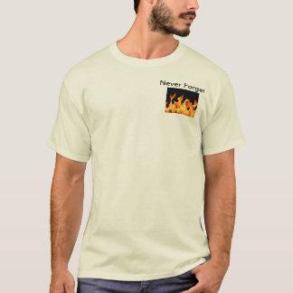 Mens ' Never Forget ' memorial T shirt