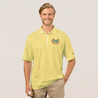 Men's Nike Polo Shirt with Crest Logo