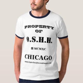 Mens O.S.H.H. Custom Property T T-Shirt