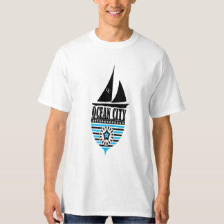 Men's Ocean City Tall Hanes T-Shirt