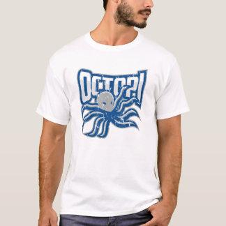 Men's Octopi Distressed T T-Shirt