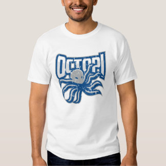 Men's Octopi Distressed T Tshirts