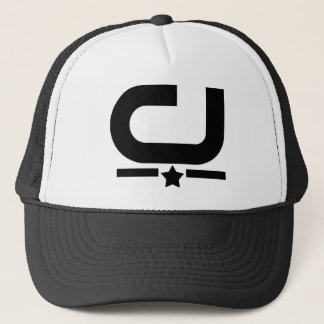 Men's Official C&J SupaStar Trucker Hat, Black Trucker Hat