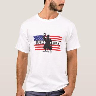 Mens Oilfield Ninja US proud T-Shirt
