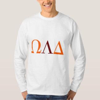 Mens Omega Lambda Delta Long Sleeve Tee