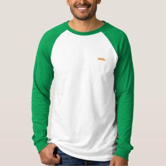Mens Orange Ferry Baseball Long Sleeve T-Shirt