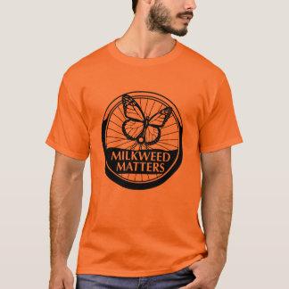 Men's Orange Shirt B/W Logo
